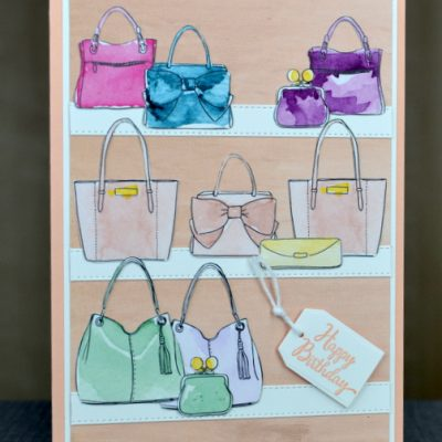 Best Dressed Designer Series Paper Birthday Card