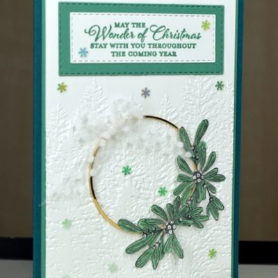 Wishes and Wonder Christmas Card