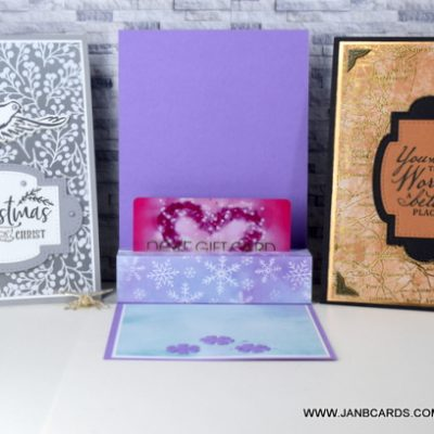 Greeting Cards with Gift Card Holders