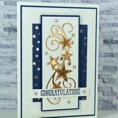 Congratulations Card Sketch 001