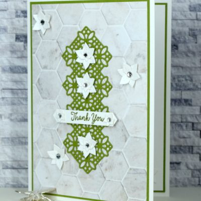 Fabulous Florals Thank You Card