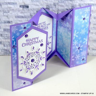 5 Panel Fancy Fold Card Video