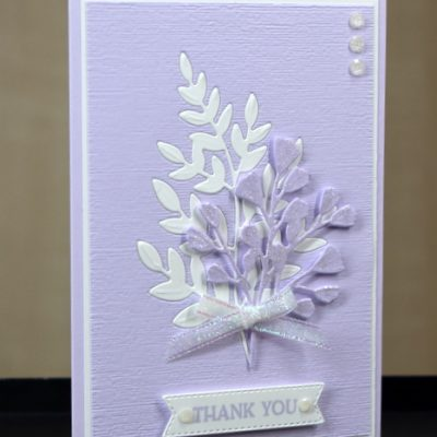 Forever Flourishing Thank You Card