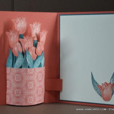 Pop-up Vase Birthday Card Video