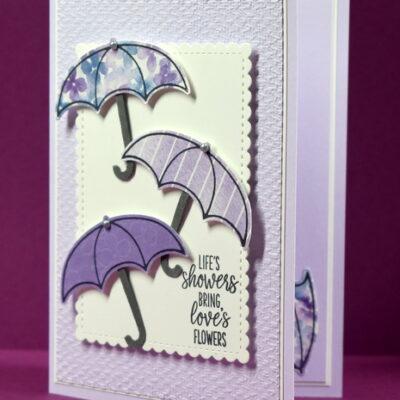 Under My Umbrella Greeting Card