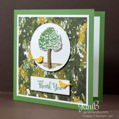 Wedding Anniversary & Thank You Card