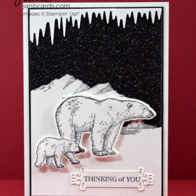 Arctic Bears Thinking of You Card