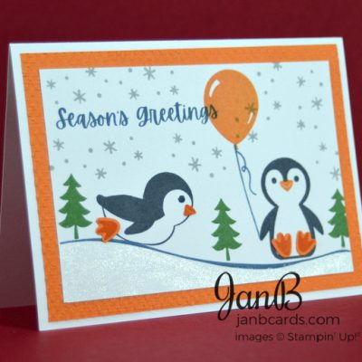 Penguin Place Christmas Card