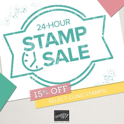 BIGGEST STAMP SALE THIS YEAR – 24 HOURS ONLY