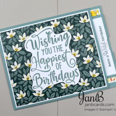 Popping Flap Birthday Card Video