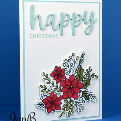 Words of Cheer Christmas Card